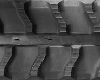 Baraldi MiniDig Rubber Track Assembly - Single 180 X 72 X 37