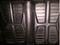 "Toro Dingo TX425 Rubber Track  - Single 10"" Width, 28 Link"