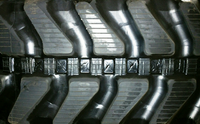 Terex HR3.7 Rubber Track  (JD Style) - Pair 300 X 52.5 X 86