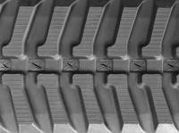 Eurocat 250LSE Rubber Track  - Pair 250 X 72 X 50