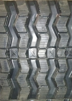 Case TR340 Rubber Track  - Single 450x86x55 ZigZag Tread