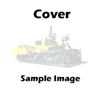 00680-204-00 Blaw Knox PF4410 Auger Shaft Cover