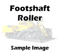 1058281 Caterpillar AP1000B Foot Shaft Roller