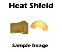 1W0464 Shield, Turbo Heat