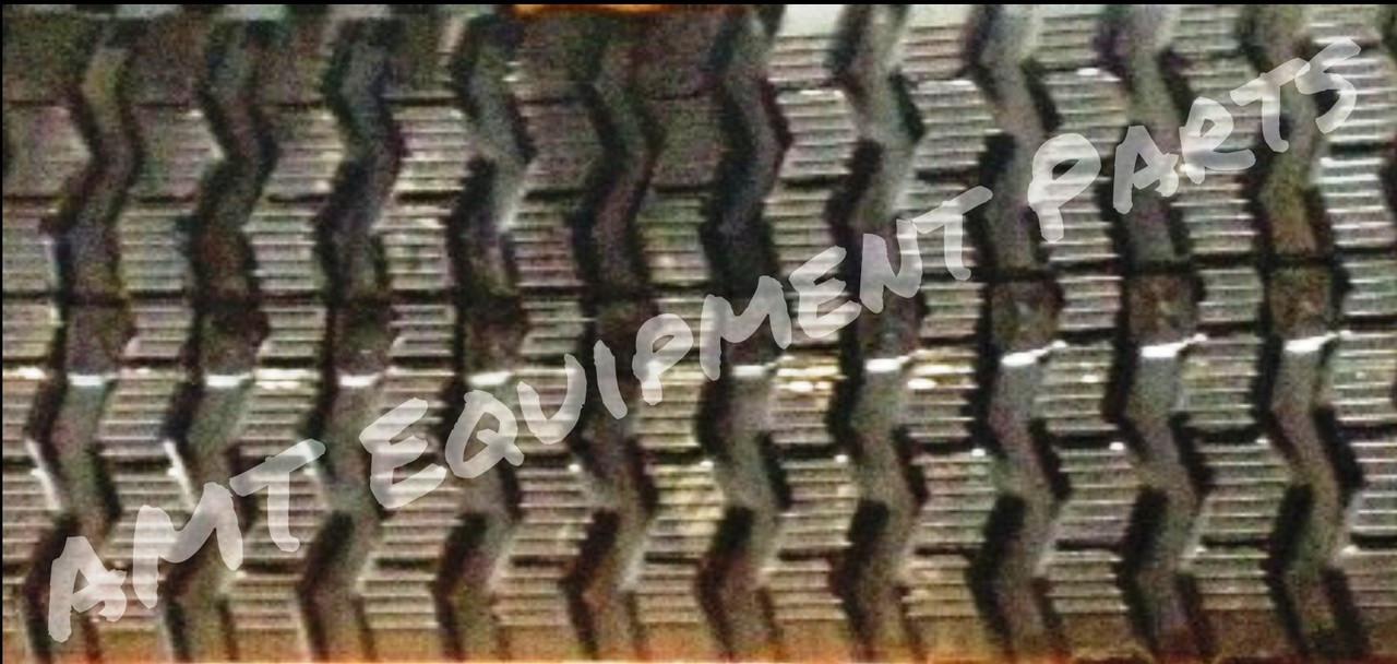 Bobcat T750 Rubber Track - Single 450x86x55 ZigZag Tread
