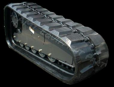 John Deere 333D Rubber Track Assembly - Pair 400 X 86 X 56