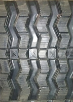 John Deere 333D Rubber Track Assembly - Single 450 X 86 X 56 ZigZag