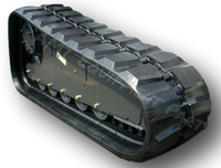 John Deere 333E Rubber Track Assembly - Pair 400 X 86 X 56
