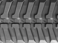 Kubota KH120 Rubber Track Assembly - Pair 250 X 72 X 42