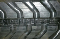 Volvo ECR88 Rubber Track Assembly - Single 450 X 81 X 76