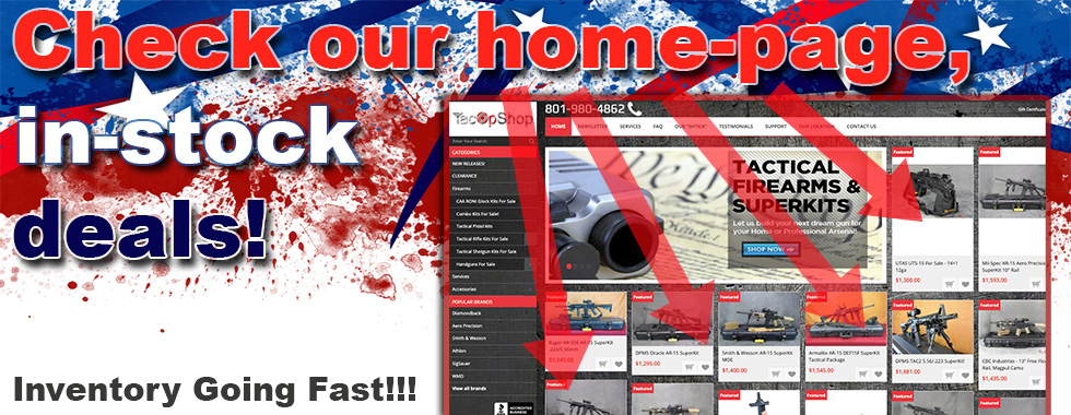 Home Page = In Stock