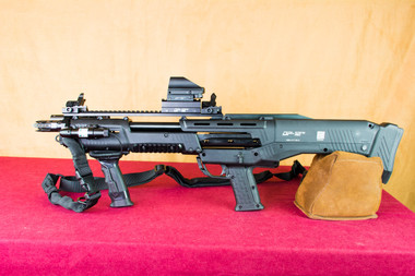 Standard Manufacturing DP-12 Fully Accessorized Left Side Sights Up