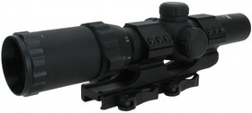 1-4X24 CQ RIFLESCOPE/MIL-DOT RETICLE (ETCHED GLASS)