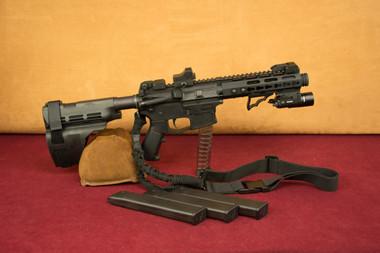 ATI AR15 Milsport 9mm Pistol Right Side