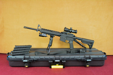 Springfield Armory SAINT 5.56 SuperKit! Everything Included! Left Side on Plano Case with Magpul Magazines