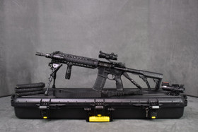 Stag Arms, Left Handed, Free Float Rail with Daniel Defense AR-15 .223/5.56mm