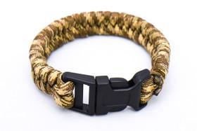 Tan paracord bracelet