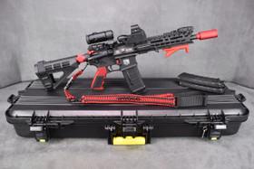 "DB15P AR-15 10"" Pistol SuperKit - In Red!"
