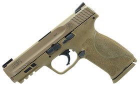 "Smith & Wesson 11767 M&P 9 M2.0 9mm Luger 4.25"" 17+1 FDE"