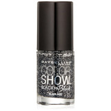 Maybelline Color Show Nail Polish,  702, Black Dust