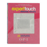 OPI Gelcolor Expert Touch Removal Wraps, 20 Count Pack