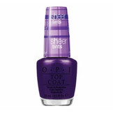 OPI Sheer Tints Color Tinted Top Coat Nail Lacquer, Don't Violet Me Down