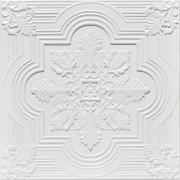 Large Snowflake - White Matte - #206