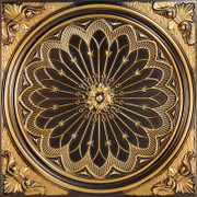 Rose Window - Antique Gold - #238