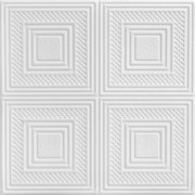 Nested Squares - R11 - Plain White