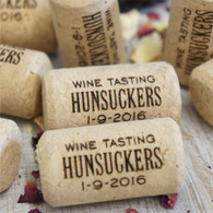 Personalised cork favours - ideal for promotions, events, weddings or parties.