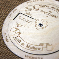 wedding wooden wedding invitations page 1 camdeco