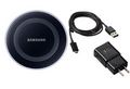 Samsung Galaxy S6 S6 Edge S7 Note 5  Qi Wireless Charging Pad with 2A Wall charger & Micro cable