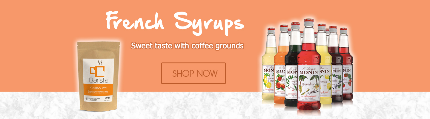Buy Coffee and Syrups online