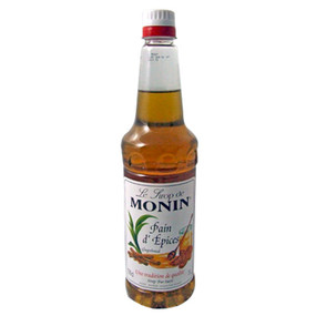 MONIN Gingerbread presents a perfectly balanced blend of ginger and cinnamon for a true Gingerbread taste!
