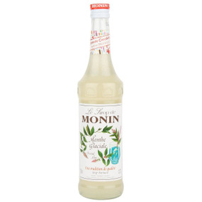 MONIN Premium Syrup Frosted Mint 70cl - Enjoy as a lovely minty Cocktail!