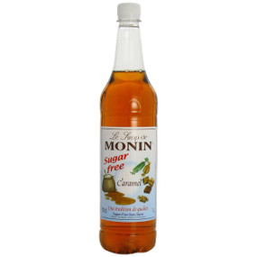 All the great taste of MONIN Caramel, but with none of the calories!
