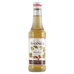 One of the top three speciality coffee flavours, along with vanilla and caramel, MONIN Hazelnut syrup delivers the fresh taste and aroma of hazelnut with a touch of almond and vanilla.
