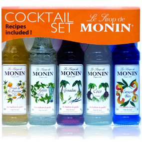 A great gift set featuring 5 specially chosen MONIN flavours for the cocktail fan!