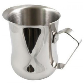 Professionalise your Barista service with a Milk Frothing Belly jug!   Capacity 1 Litre