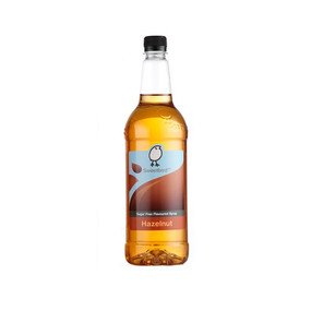 Sweetbird Hazelnut Sugar Free Syrup 1 Litre - Great with Coffee or Chocolate!