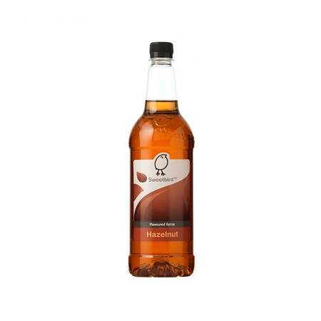 Sweetbird Hazelnut Syrup 1 Litre - Works lovely when added to Coffee and Chocolate!