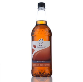 Sweetbird Salted Caramel Syrup 1 Litre - A delicious sweet and salty combination!