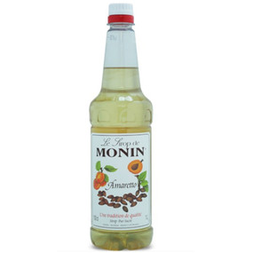 MONIN Amaretto delivers the bittersweet taste of the popular liqueur and can be used to create tempting Italian themed desserts and after-dinner drinks.