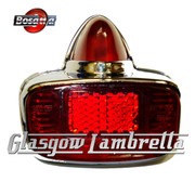 Vespa GS Scooter Italian REAR LIGHT / LAMP UNIT by BOSATTA