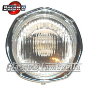 Lambretta SX / TV3 Italian HEX / HEXAGONAL HEADLAMP / HEADLIGHT UNIT by BOSATTA