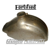 FORTIFIED Lambretta LD Scooter FRONT MUDGUARD (Bare metal oiled Innocenti spec)