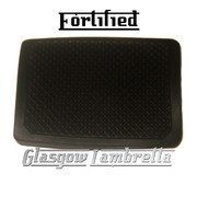 FORTIFIED Lambretta s1,2 & 3 Li/SX/TV/GP/DL BLACK BRAKE PEDAL RUBBER