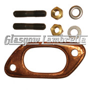 Lambretta Series 2 & 3 Scooter EXHAUST U BEND FIX KIT  Li/SX/TV/GP/Special
