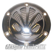 "Vespa Rally / Sprint / Super / GS / GL etc  6V POLISHED ""SHELL"" HORN"