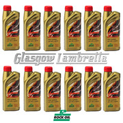 FULL CASE 12 x 1 Litre ROCK OIL SYNTHESIS 2 RACING F/S 2T ENGINE OIL + Free OIL MEASURE JUG